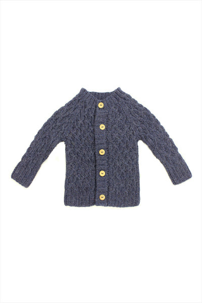 F&H Kid's Smocked Cardigan