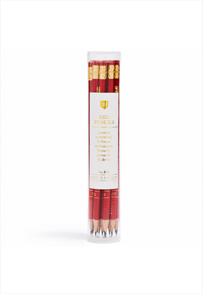 Red Pencil Set