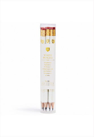 White Pencil Set