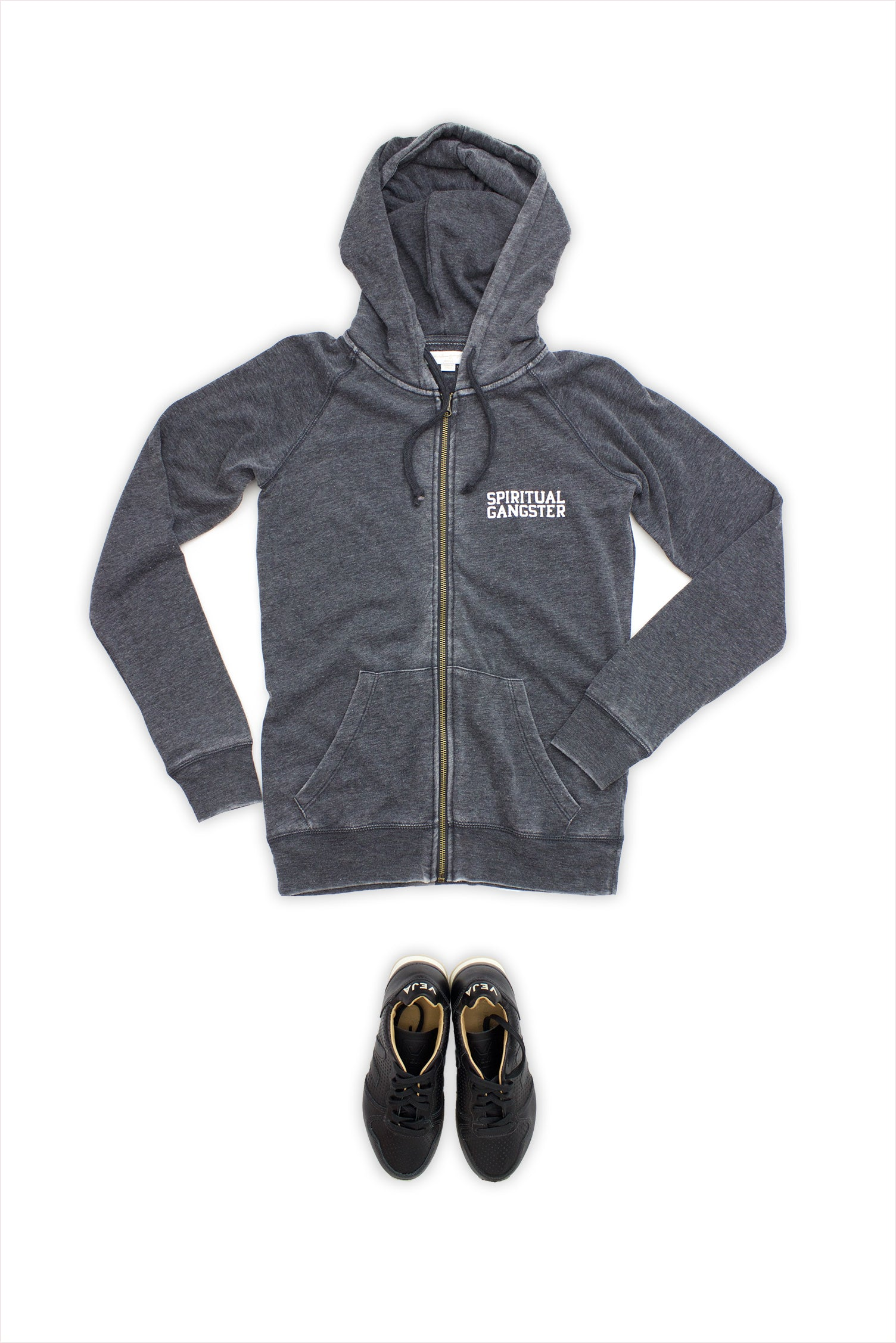 Love Is The Bridge Dharma Zip Hoodie