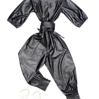 Salvador Jumpsuit Combination With Quilted Belt