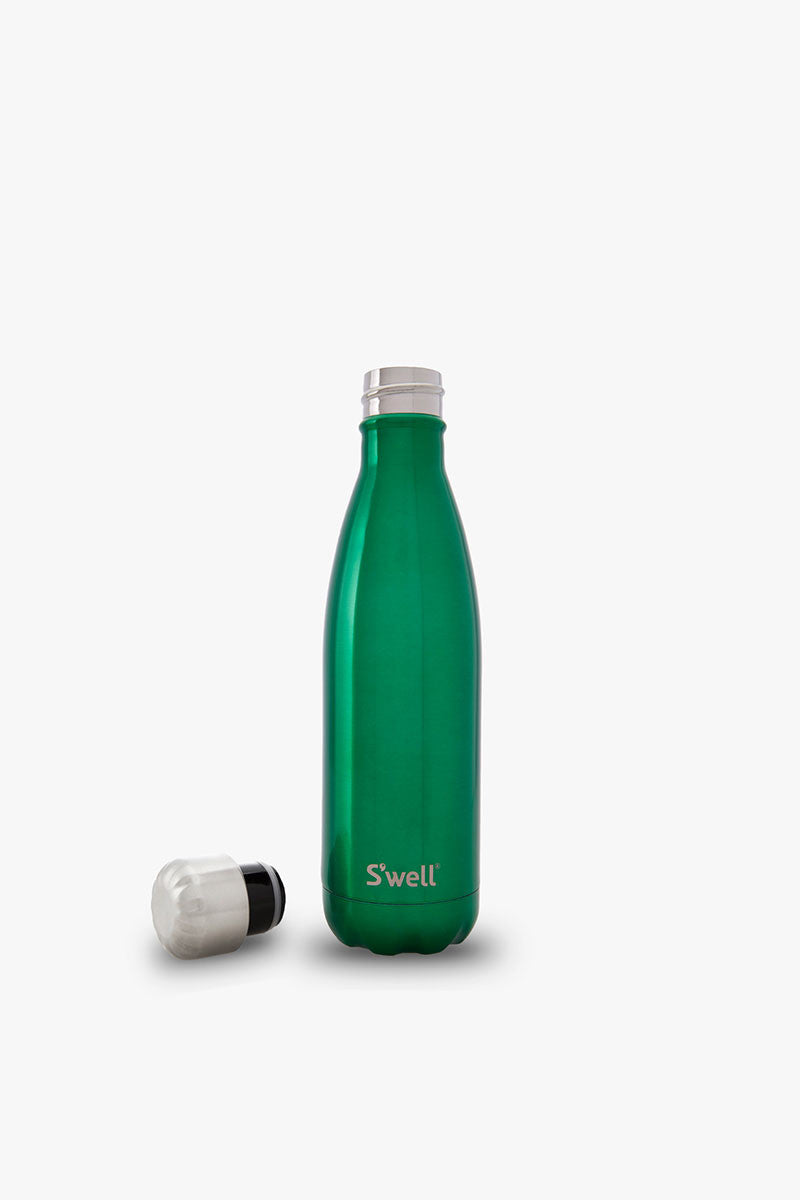 S'well Water Bottle - Kelly Green 17 oz