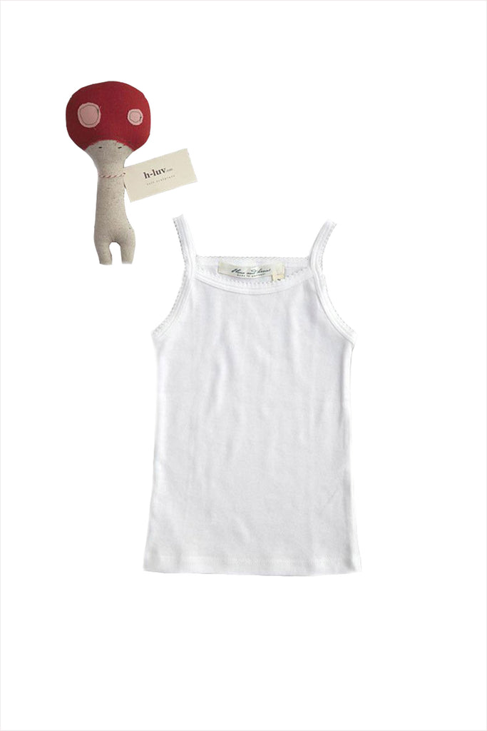 Tank Undershirt White