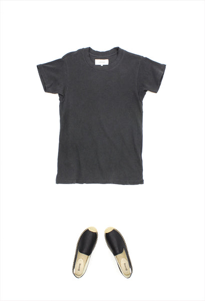 The Great Slim Tee Washed Black