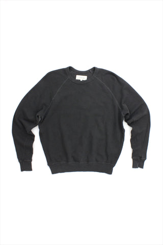 The Great College Sweatshirt Washed Black