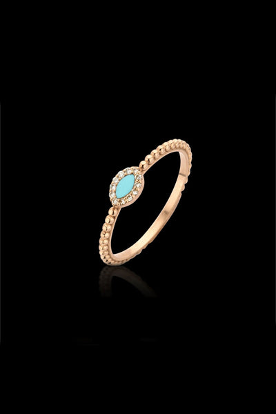 Macc Jewels Turquoise Ring