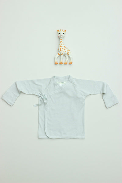 Tie Front Tee Long Sleeve Sale Cloud