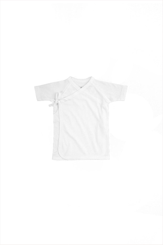 Tie Front Tee Short Sleeve Sale