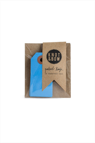 True Blue Parcel Tags