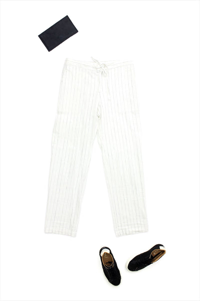 Two New York Drawstring Straight Leg Pant