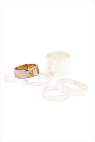 Unisex Wide Band 6mm