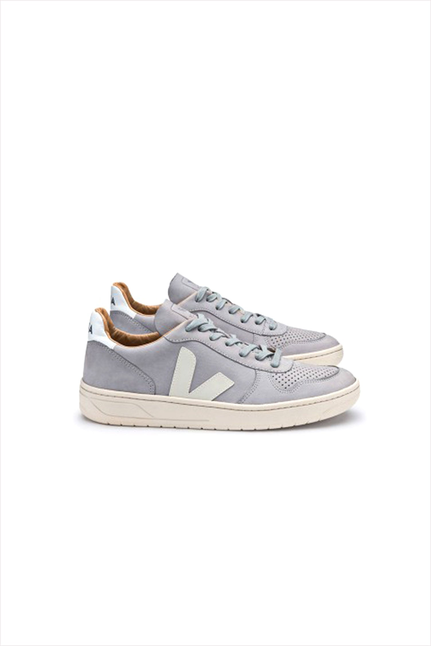 Veja Adult V-10 Bastille Sneaker Oxford Grey Pierre