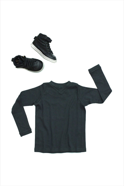 V-Neck Tee Long Sleeve