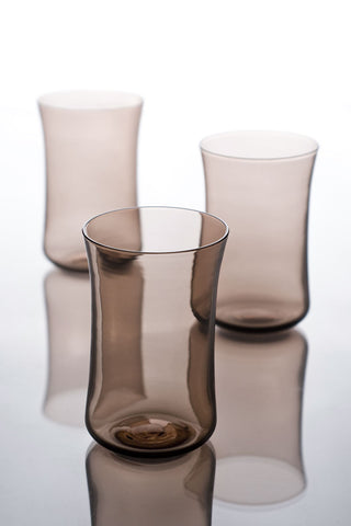 Water Glasses Set Of 4 Light Claret