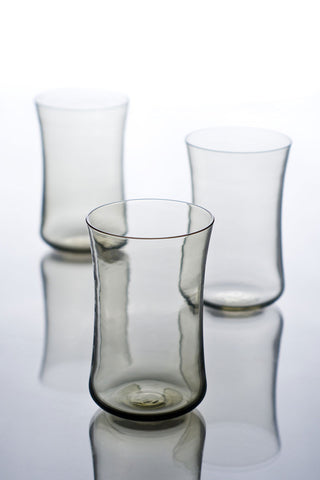 Water Glasses Set Of 4 Smoke