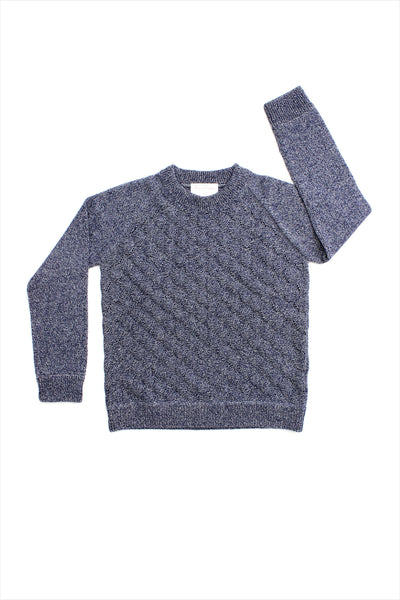 F&H Cashmere Triangle Leaf Sweater