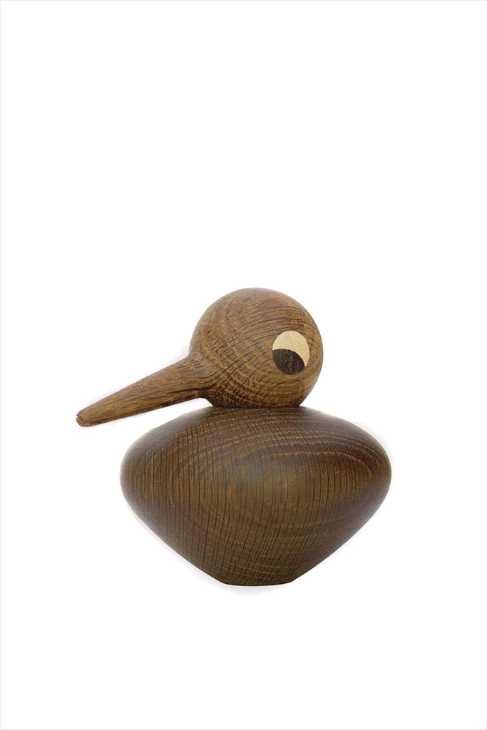 Wooden Bird Chubby Smoked