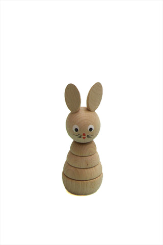 Wooden Stacking Rabbit