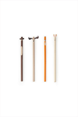 Woodland Pencil Set