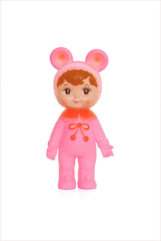 Pink Woodland Doll