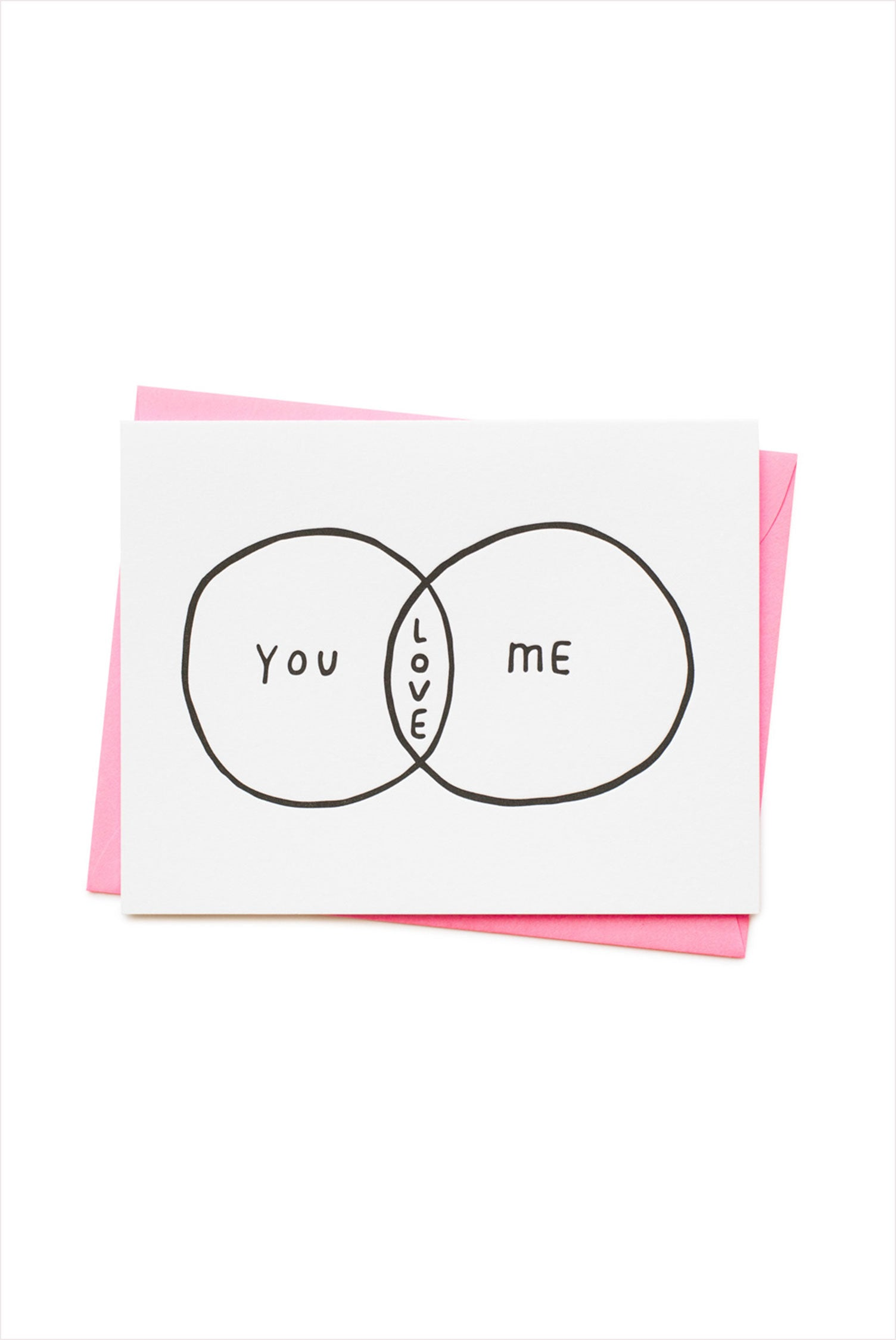 You Me Love Card
