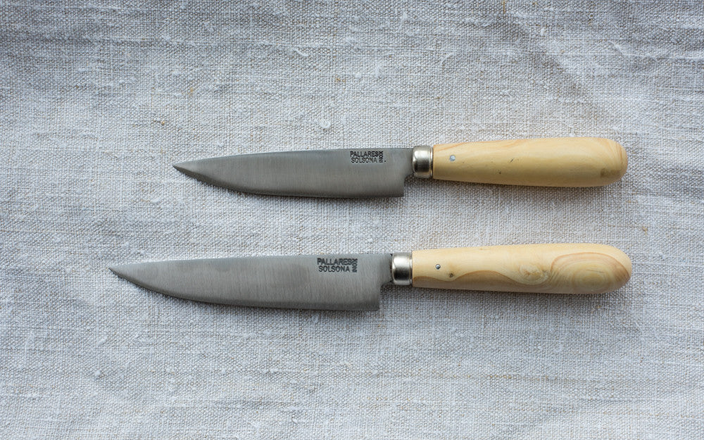 Boxwood Stainless Steel Knives