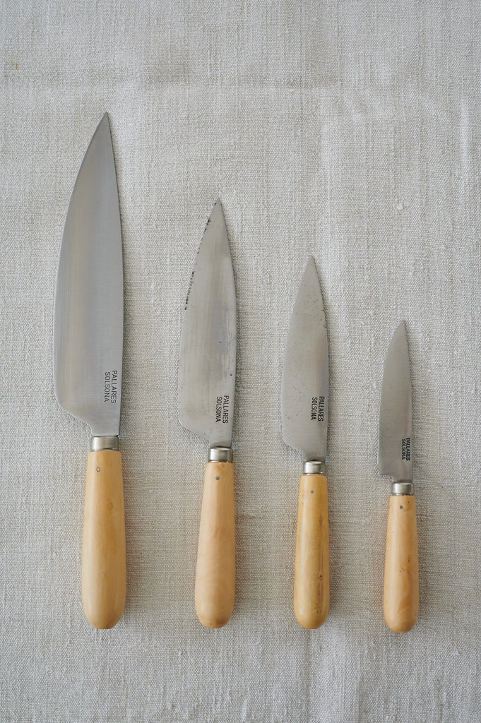 Boxwood Carbon Steel Knives