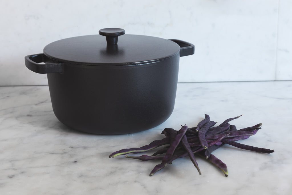 Cast Iron Casserole Pan - C1