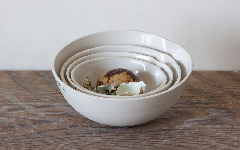 Porcelain Measuring Bowls