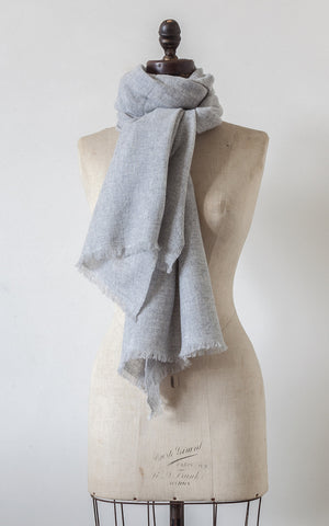 Fine Hand Loomed Cashmere Scarf
