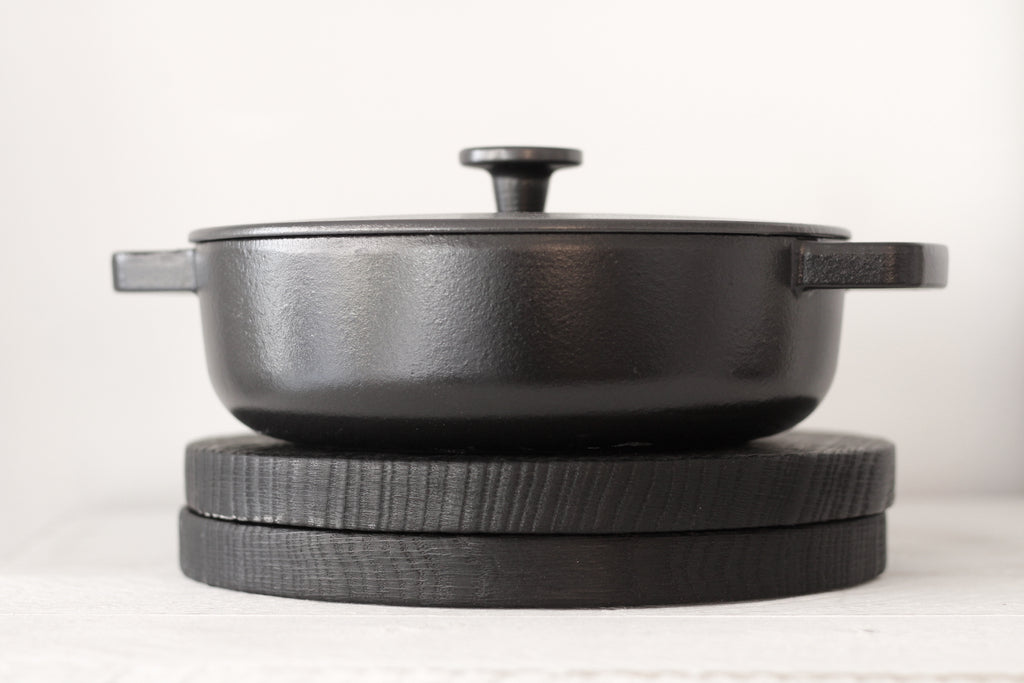 Cast Iron Saute Pan - C2
