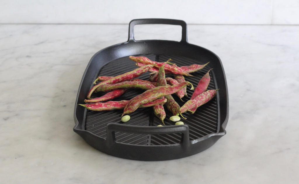 Cast Iron Double Hob Griddle Pan