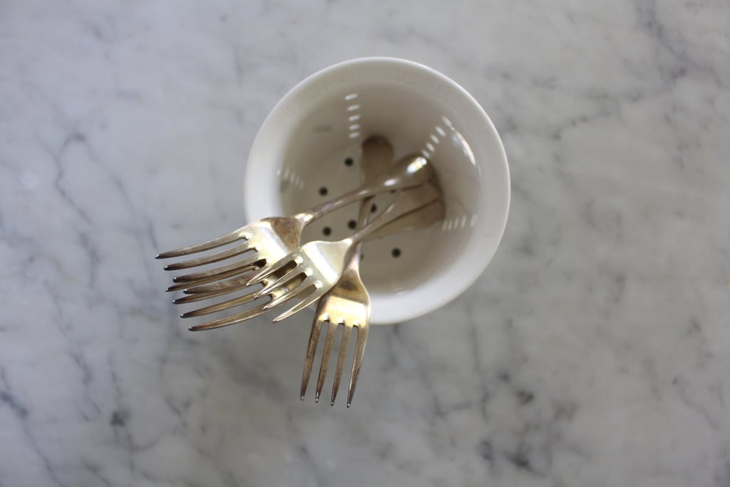 Bone China Cutlery Drainer
