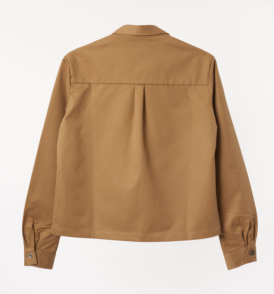 Cotton Drill Jacket - Khaki