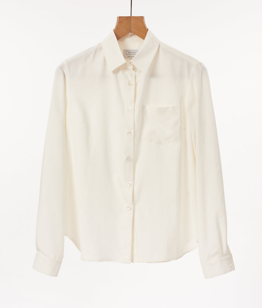 Sand Washed Silk Shirt