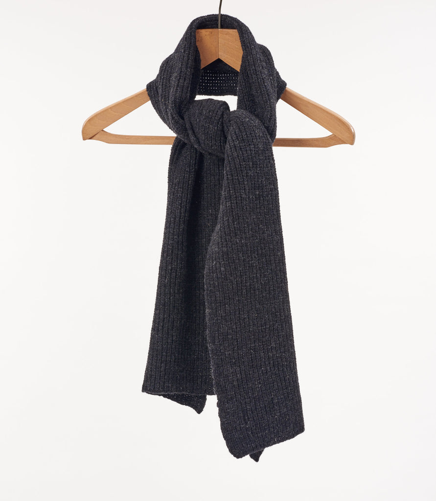 Lambswool Fisherman knit Scarf