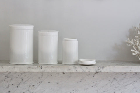 Bone China Storage Jars