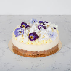 Lemon & Passion Fruit Cheesecake