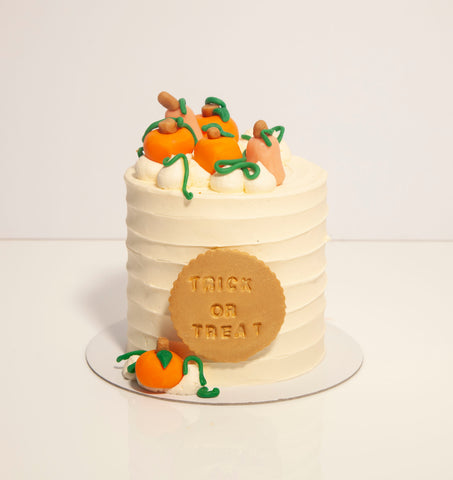 "4"" Pumpkin Patch Cake"