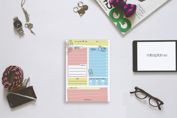 Organizador Blogger Diario Lovely