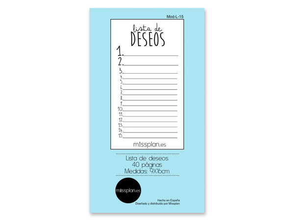 Lista de deseos Lovely