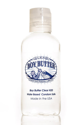 Boy Butter Clear Formula 4 oz