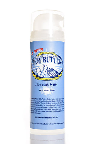 Boy Butter H2O Formula 5 oz