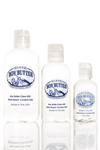 Boy Butter Clear Stock Up & Save Combo Bundle