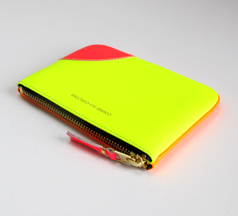 All new neon colours are in! The Zip wallet in super fluro yellow and li... click for more information
