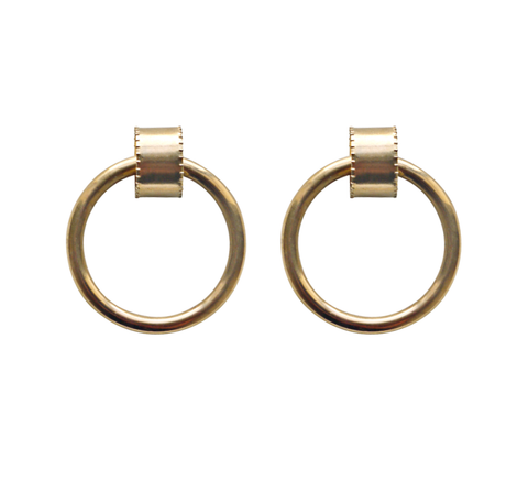 The Ruota Hoop earrings are another large design but like the Curve styl...                        click for more information