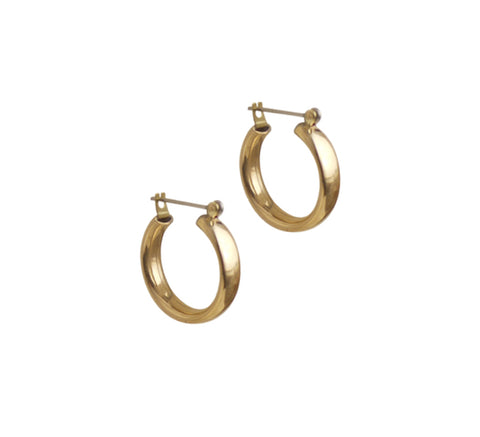 The Mini Band earrings are a new design from Laura Lombardi. A round, s...                        click for more information