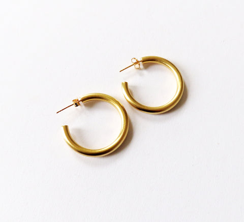 4c3c71d2e View · New gold hoops from Danish designer Pernille Corydon, the Beta is a  wid.