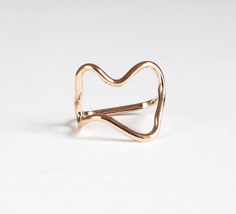 Sabrina Dehoff's new Dada ring in rose gold is inspired by the artistic... click for more information