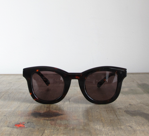 Introducing the Wolfgang frame!  Available in dark tort with a full bla... click for more information